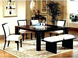 rug under dining room table what size area rug for round dining table rugs kitchen room
