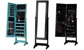 jewelry storage mirror groupon goods