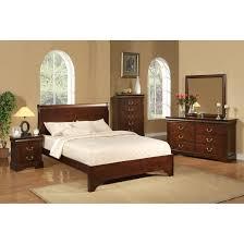 Mahogany Bedroom Furniture Set Traditional And Elegant Mahogany Sleigh Bed All King Bed