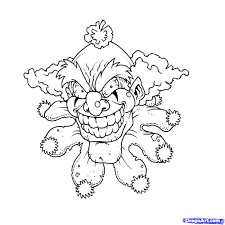 Pennywise The Clown Coloring Pages With It The Clown Coloring Pages