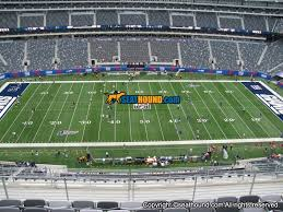 Metlife Stadium Football Seating Chart Buy Giants Psls In Section 314 Row 12 Seats 23 25