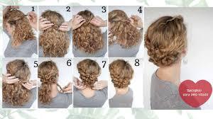 Peinados Faciles Y Rapidos Para Cabello Rizado Peinados Lindos Y
