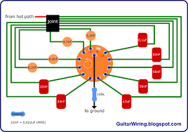 rotary switch wiring diagram guitar rotary image rotary switch wiring solidfonts on rotary switch wiring diagram guitar