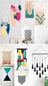 9 AMAZING DIY WALL HANGINGS