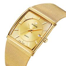 <b>Top Brand WWOOR</b> Quartz Watch <b>Men</b> Square Waterproof Business ...