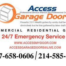 access garage doorsAccess Garage Doors  Garage Door Services  2050 Grayson Dr