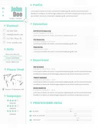 Alian Resume Template Professional Resume Cv Template Modern