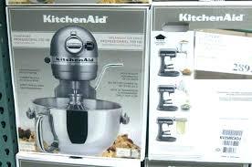 kitchenaid mixer costco professional 6 qt mixer rebate additional off