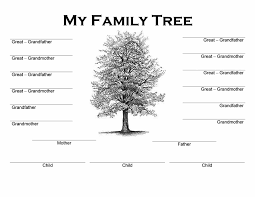 family tree template word free family tree template printable