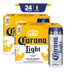 Grados De Alcohol De Corona Light Cerveza Corona Light 2x 12pack Lata 355ml C U