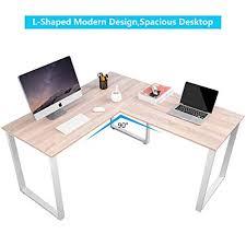 Home office work station Multiple Person Image Unavailable Amazoncom Amazoncom Merax Lshaped Office Workstation Computer Desk Corner