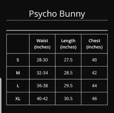 Psycho Bunny Size Chart New Gin Rickey Plaid Woven Pajama Pants