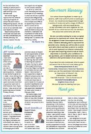 schools newsletter ideas governors newsletter governors newsletter february 2018 ideas