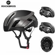 Rockbros Helmet With Lights Rockbros Mtb Road Bike Cycling 57cm 62cm Eps Integrally