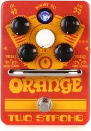 <b>Orange Two</b> Stroke Гитарная <b>педаль</b> эффектов бустер/Pre-EQ