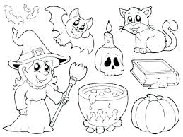 Scary Coloring Pages Full Size Horror Fun Time Clown Faces D Scary