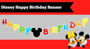 how to make a diy mickey mouse clubhouse inspired happy birthday diy disney mickey mouse happy birthday banner