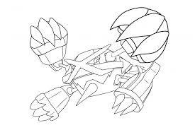 Rayquaza Coloring Page At Getdrawingscom Free For Personal Use