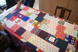 Our Day of Quilting - Bunyip Craft & We were really excited to have Dave in our shop last week to finish off his  amazing quilt that he was making for a friend. Quilt-making is a new skill  for ... Adamdwight.com