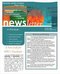 Newsletters Templates Sample Newsletters Templates Major Magdalene Project Org