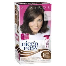 Clairol Nice N Easy Color Blend Foam Hair Color 4 Dark