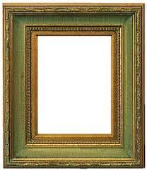 antique black frame. This Frame Features Scoop Ribbed Design, Antique Gold Finish Matching  Liner. Black N