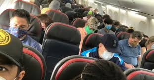 worried about crowded flights know
