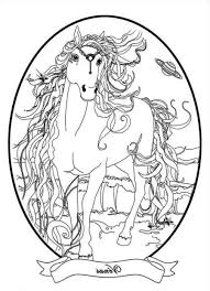 Coloriage Cheval Magique Imprimer 1001 Animaux