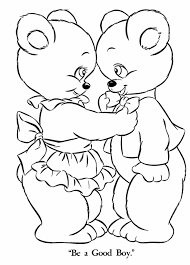 Small Picture Coloring Pages Teddy Bear Coloring Home