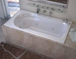 venzi elda 32 x 60 rectangular whirlpool jetted bathtub with right drain by atlantis