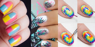 awesome nail art patterns and ideas indian inspired nail art step by step