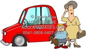 flat tires clipart. Fine Flat And Flat Tires Clipart