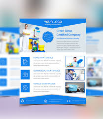 commercial cleaning flyer templates free cleaning service psd flyer template free download