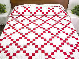Disappearing9patch 9 Patch Tumbling Blocks Quilt Pattern 9 Patch ... & ... Disappearing 9 Patch Quilt Designs Amish Quilts I Didnt Know How Much I  Love Red And ... Adamdwight.com
