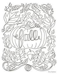 82 Best Fall Coloring Sheets Images Coloring Books Vintage