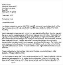Intent Letter Sample For School 17 Best Letter Of Intent Template Images Letter Of Intent
