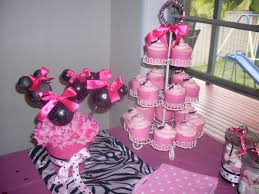 Pink And Black Minnie Mouse Decorations Minnie Mouse A Multifarious Me