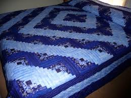 Handmade and Patchwork Amish Quilts for Sale   Amish Spirit & Amish Log Cabin Quilt Diagonal View Adamdwight.com