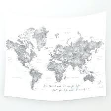 world map wall tapestries we travel not to escape life tapestry uk world map wall tapestries