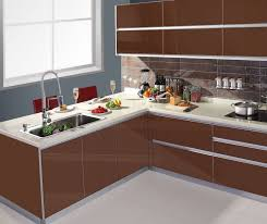 modern kitchen cabinet without handle. Modern Kitchen Cabinet Without Handles : Awesome Design Interior With Brown Color Furniture And Handle S