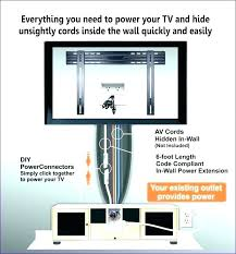 how to hide cables wires marvelous living cable cords from mounted hiding wall tv uk