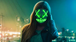 Cool Girl Neon Wallpaper (Page 1 ...