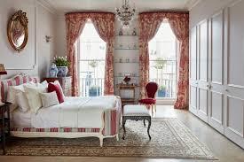 elegant bedroom in georgian home
