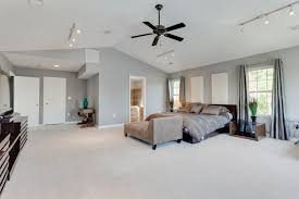 contemporary master bedroom with ceiling fan vaulted ceiling in intended for new property ceiling fan for master bedroom decor