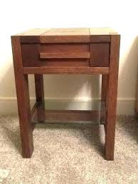 dark wooden side table small wood tables oak round furniture