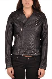 Tripp NYC Quilted Faux Leather Moto Jacket - TrashandVaudeville.com & Women >Jackets > Quilted Faux Leather Moto Jacket Adamdwight.com