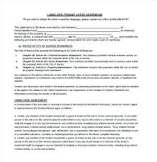 Rental Agreement New Basic Lease Examples Addendum Template Word ...