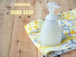 all natural gentle and moisturizing foaming hand soap recipe