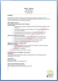 Free Tax Accountant Resume Example Unforgettable Tax Preparer