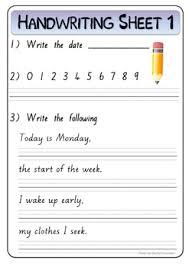 Pre Cursive Handwriting Worksheets Teaching Resources Tpt